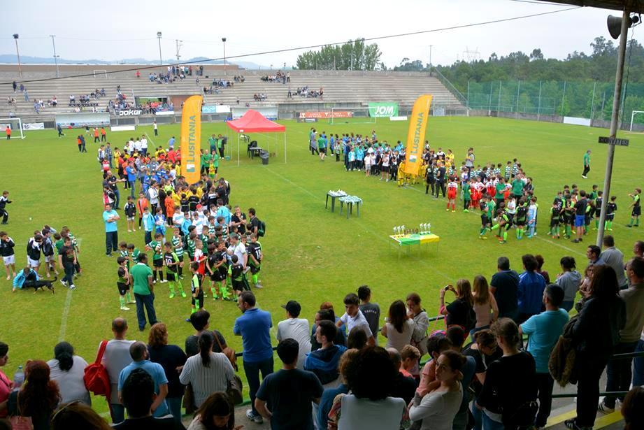 """FC Vizela participou na Festa Final da Liga """"Vale do Ave"""""""