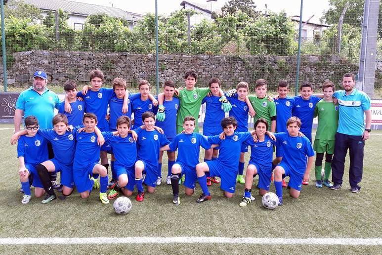 Sub-13 participaram no torneio do Lomarense