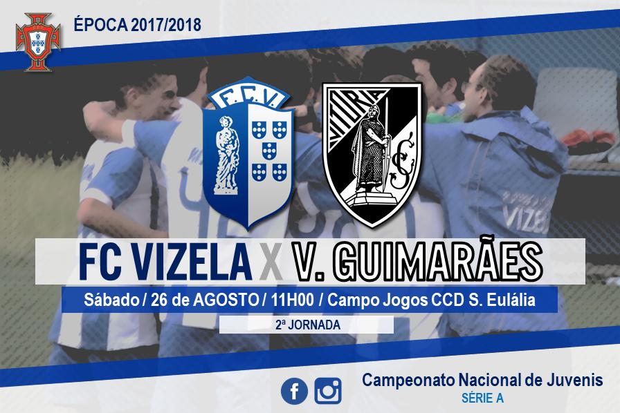 """Juvenis """"A"""" recebem Vitória de Guimarães"""