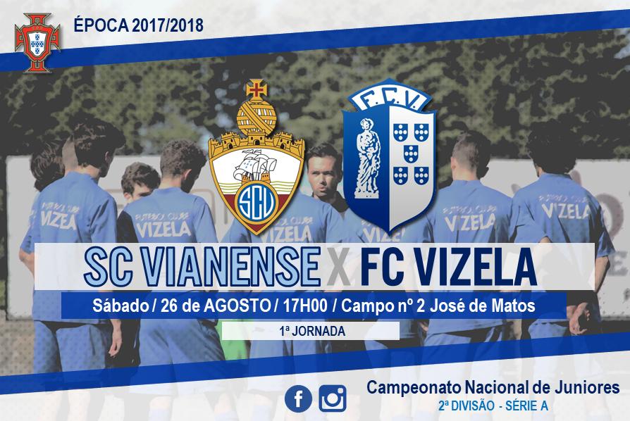Juniores jogam este sábado em Viana do Castelo