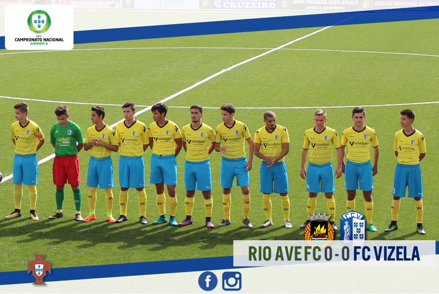 FC Vizela conquistou ponto importante em Vila do Conde