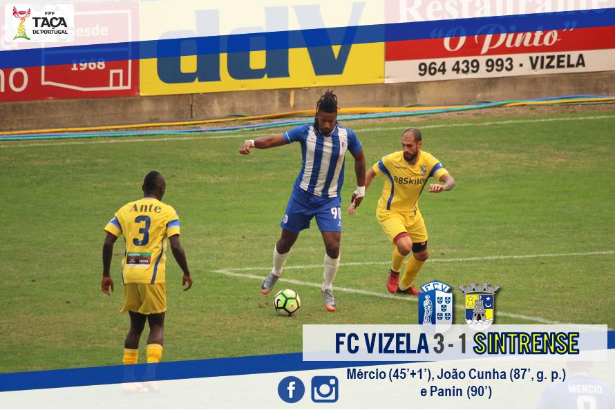 Eficácia final guiou FC Vizela à 4ª eliminatória