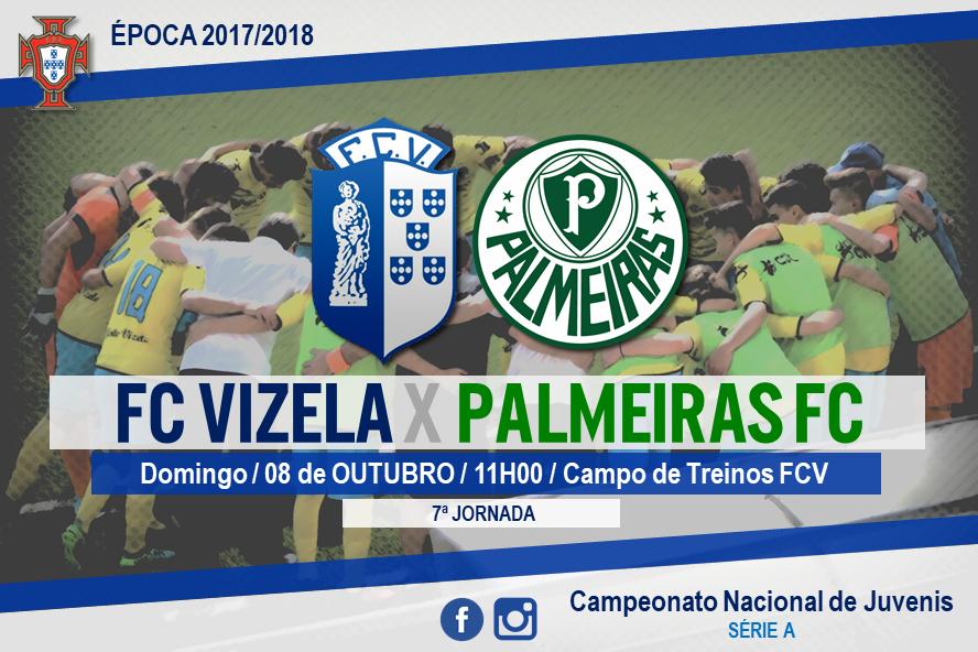 """Juvenis """"A"""" recebem Palmeiras este domingo"""