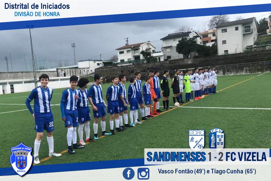 FC Vizela prossegue marcha vitoriosa na Divisão de Honra