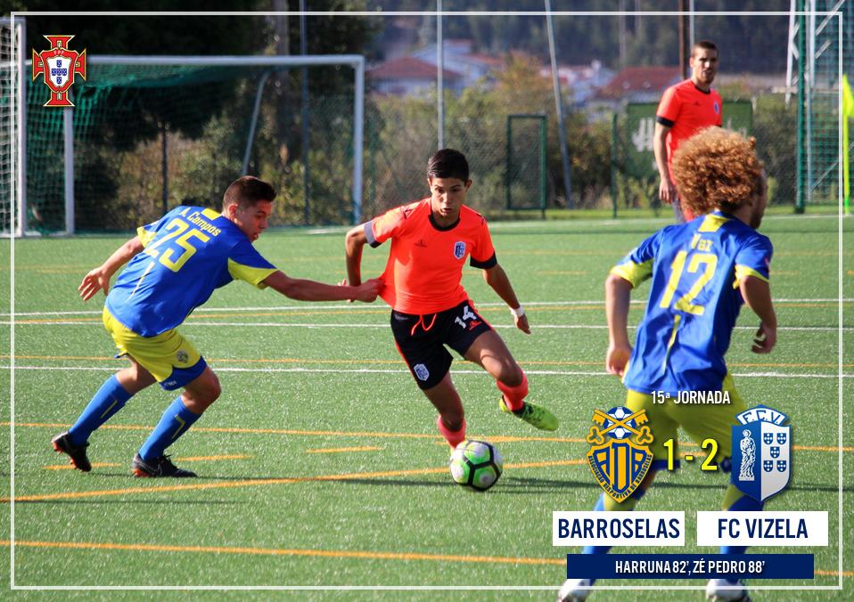 Juniores venceram Barroselas em jogo antecipado