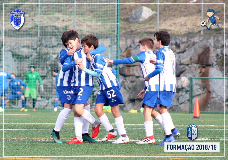 FC Vizela goleou AD Fafe em Infantis