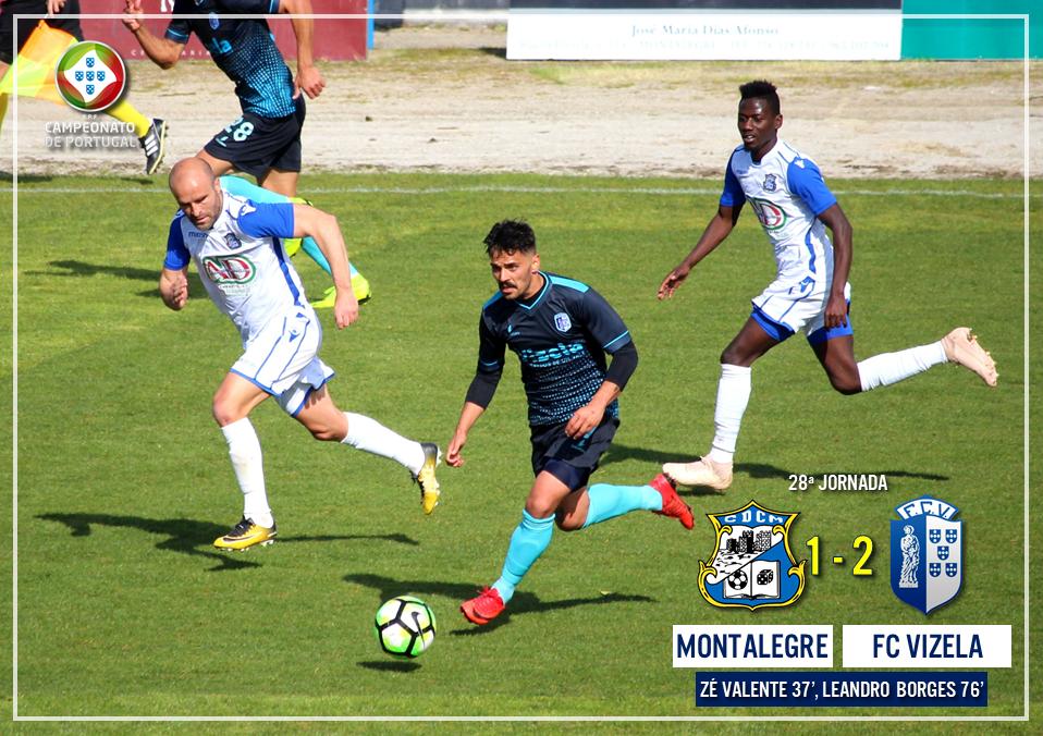 FC Vizela supera Montalegre e reforça vantagem sobre rivais