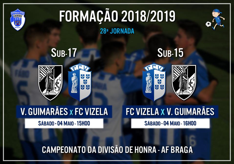 """Iniciados """"A"""" recebem Vitória de Guimarães"""