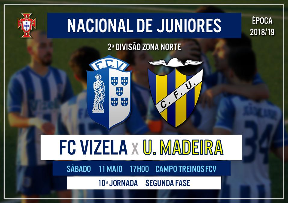 Sub-19 recebem União da Madeira e um triunfo significará a subida de divisão