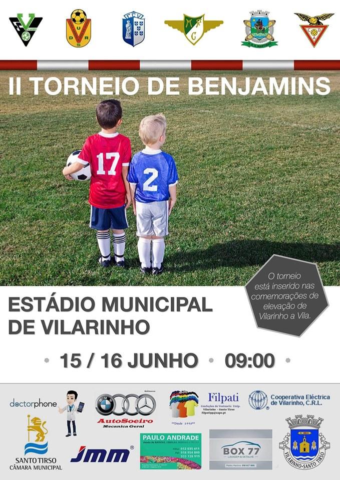Benjamins no torneio do FC Vilarinho