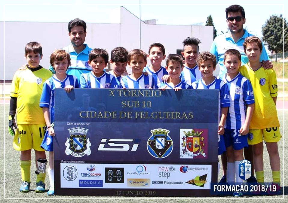 Sub-10 disputaram torneio em Felgueiras