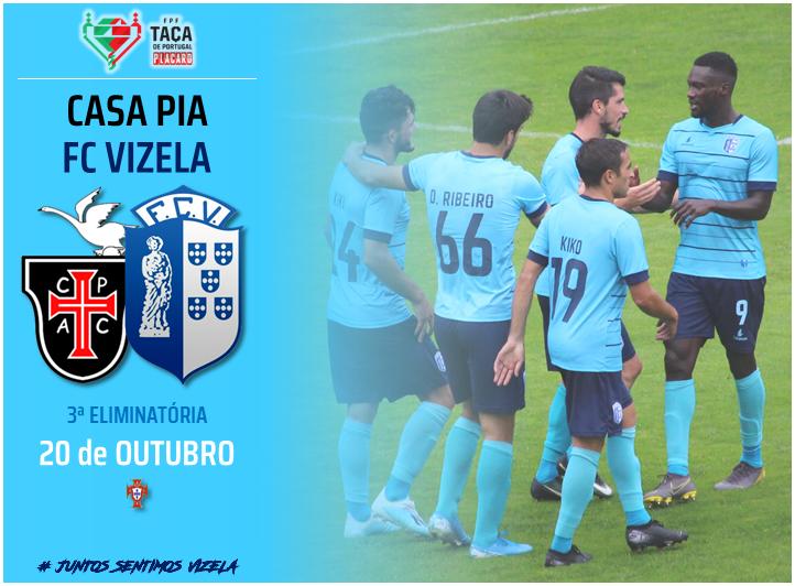 FC Vizela reencontra Casa Pia na Taça de Portugal